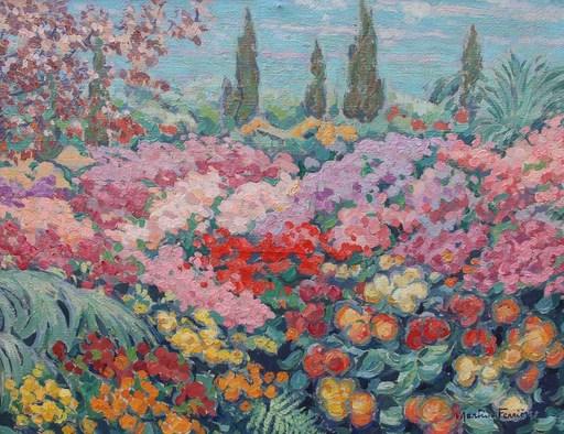 Jac MARTIN-FERRIERES - Pintura - Fleurs