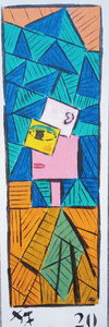 Harry BARTLETT FENNEY - Pittura - retro femme