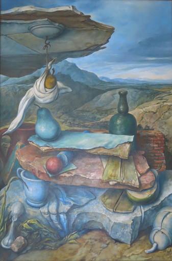 Samuel BAK - Peinture - Balancing Act