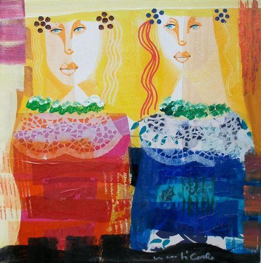 Vittorio Maria DI CARLO - Painting - Le amiche