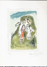 Marc CHAGALL - Print-Multiple - Les Trois Anges