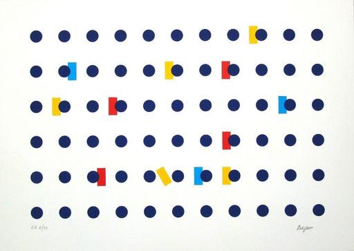 Yaacov AGAM - Grabado - Homage to Federico Garcia Lorca I