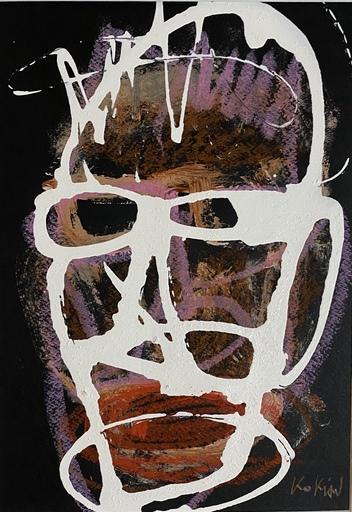 KOKIAN - Peinture - KOLA MAN