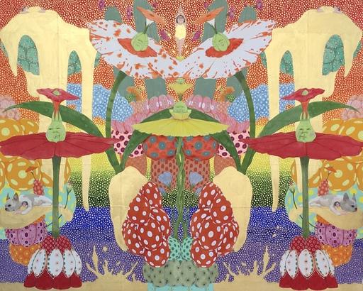 Mari ITO - Painting - Origen del deseo - Exteriorización de mis deseos