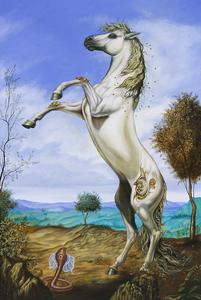 Carlos SABLÓN - Peinture - Le Duel