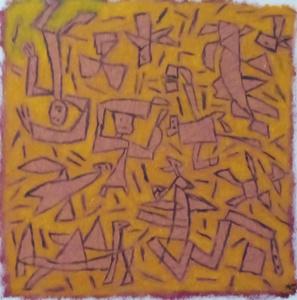 Harry BARTLETT FENNEY - Painting - the snake