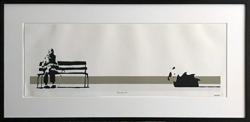 BANKSY - Estampe-Multiple - Weston Super Mare signed