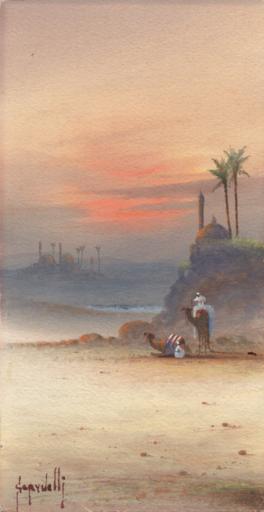Spyridon SCARVELLI - Drawing-Watercolor - Orientalis