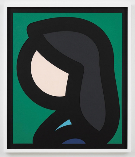 Julian OPIE - Druckgrafik-Multiple - Paper Head 6