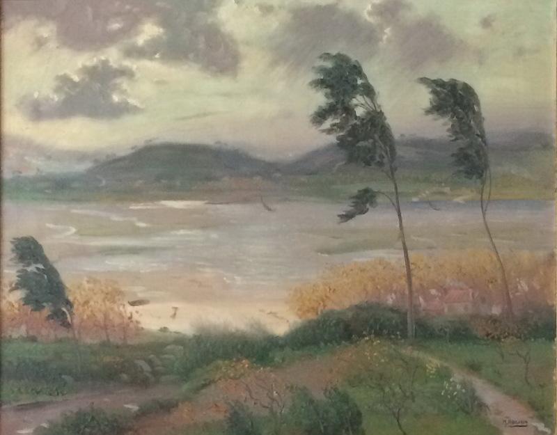Manuel ABELENDA ZAPATA - Pintura - viento