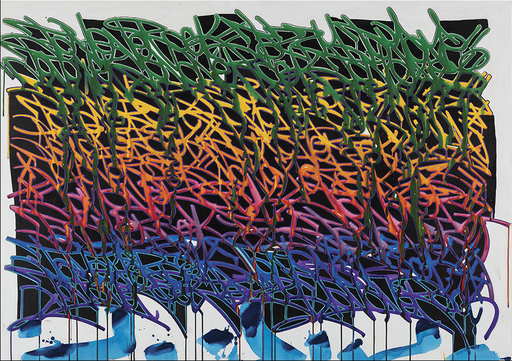 JONONE - Pintura - BURNING BRIDGES
