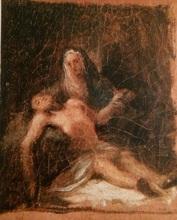 Francisco José DE GOYA Y LUCIENTES - Painting - Piedad