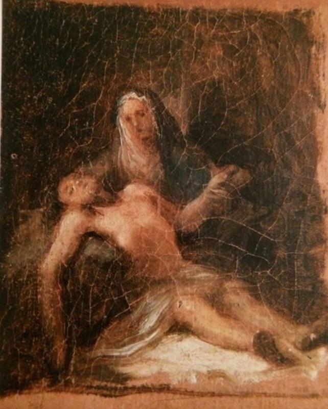 Francisco José DE GOYA Y LUCIENTES - Pintura - Piedad