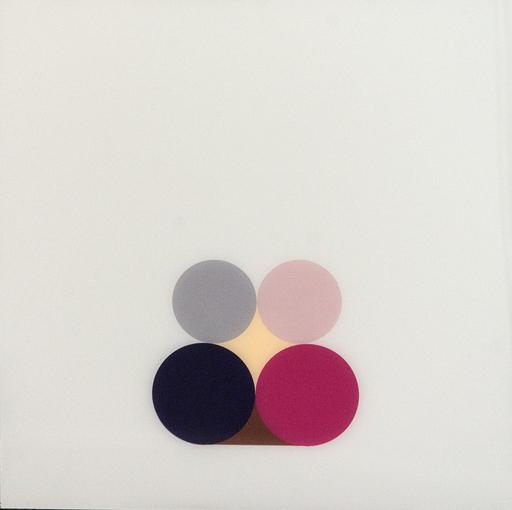 David CANTINE - Painting - Violet Still Life 3