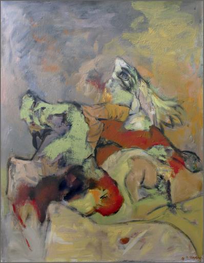 Henri CHARIOT - 绘画 - Left Wall Inside
