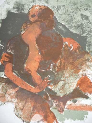 Michel RODDE - 版画 - Gestes pour l 'amour