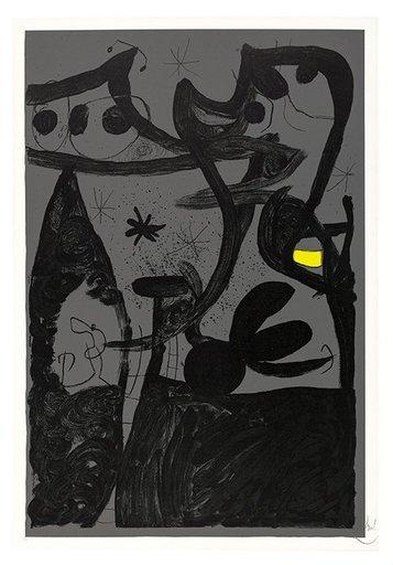 Joan MIRO - Estampe-Multiple - Untitled