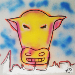 Mounya KECHA - Dibujo Acuarela - No Title    (Cat N° 6362)