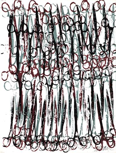 Fernandez ARMAN - Grabado - Gothic