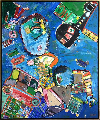 George MCNEIL - Peinture - Quondam City