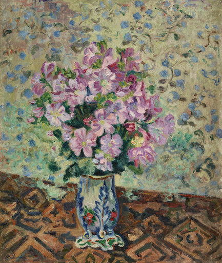 Armand GUILLAUMIN - Painting - Bouquet de fleurs