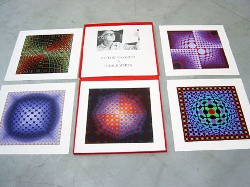 Victor VASARELY - Estampe-Multiple - portfolio