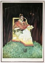 弗朗西斯•培根 - 版画 - Study for Portrait of Pope Innocent X after Velasquez