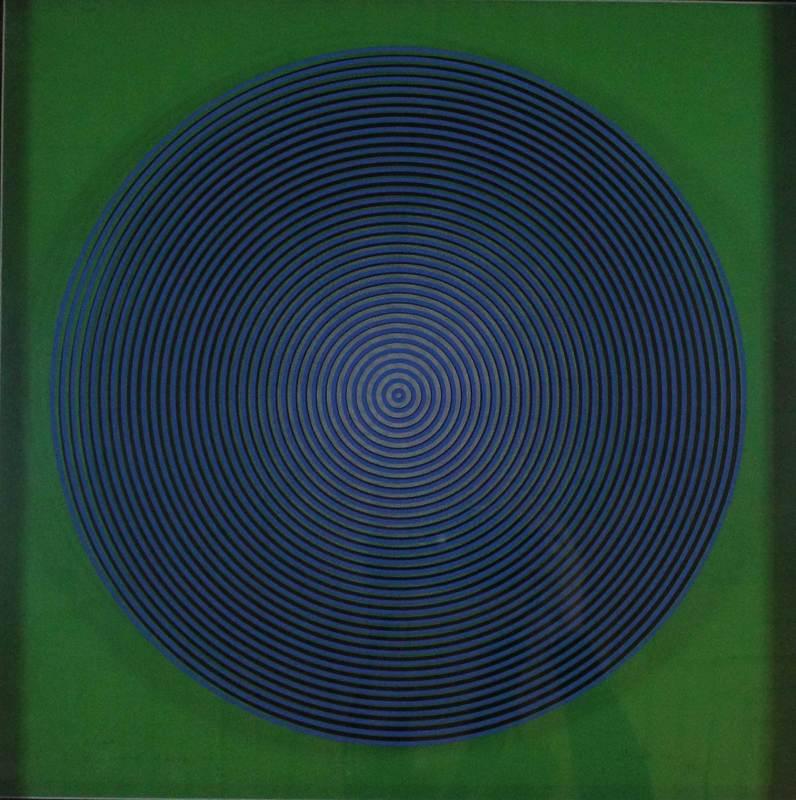 Alberto BIASI - Estampe-Multiple - Dinamica visiva S2