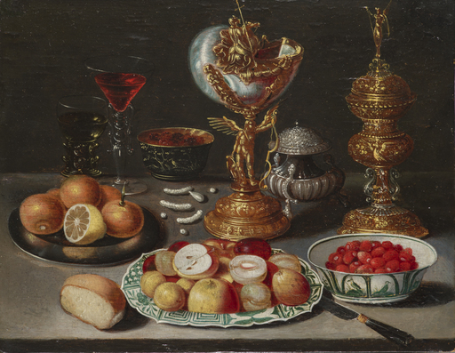 Osias II BEERT - Gemälde - Nature morte sur un entablement