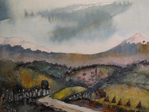 Juan RAMIREZ GARCIA - Gemälde - Volcanes de Mexico