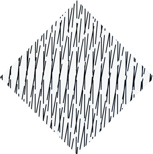 François MORELLET - Print-Multiple - 3D Concertant 79°-90°-84° detailed