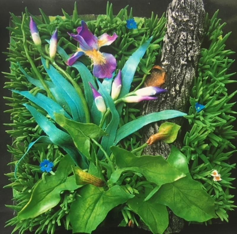 Piero GILARDI - Sculpture-Volume - Orchidee selvatiche