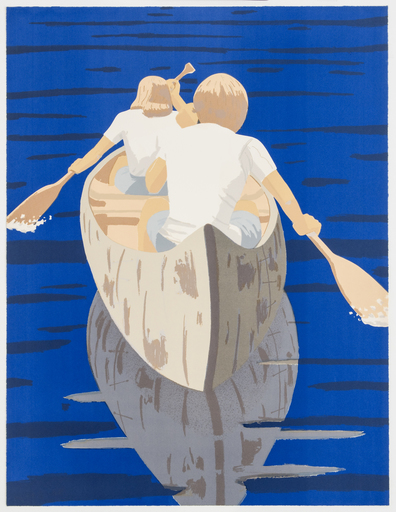Alex KATZ - Grabado - Good Morning