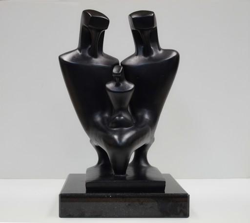 Augustin CARDENAS - Sculpture-Volume - The family
