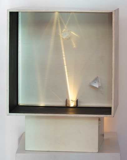 Alberto BIASI - Scultura Volume - LIGHT PRISM