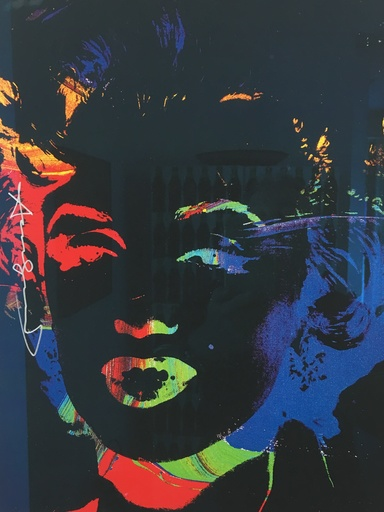 Andy WARHOL - Print-Multiple - MARYLIN REVERSE