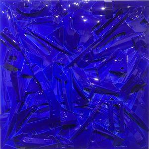 Fernando DA COSTA - Sculpture-Volume - DS Bleue