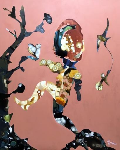 Diana HÖDING - Painting - Ein Schritt im entscheidenden Moment