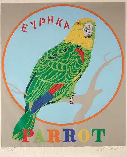Robert INDIANA - Print-Multiple - Parrot