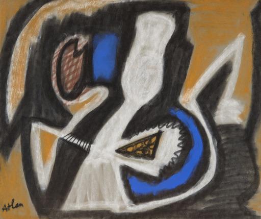 Jean-Michel ATLAN - Drawing-Watercolor - Sans titre