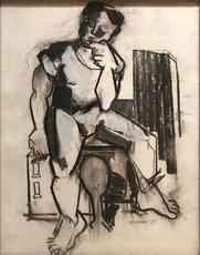 Klaus Karl MEHRKENS - Dibujo Acuarela - Senza titolo, 1989