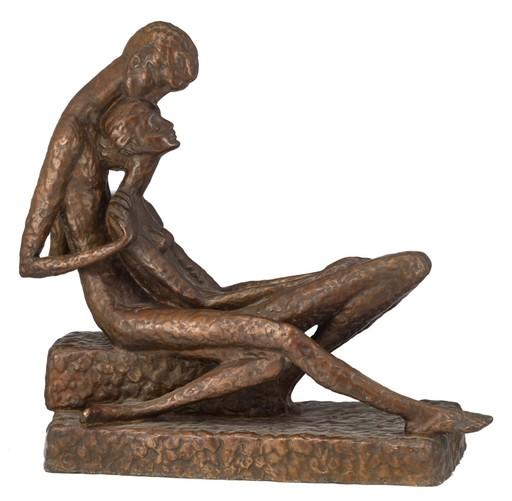 Koos VAN DER KAAIJ - Escultura - Amoureux