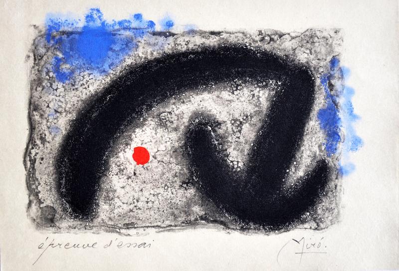 Joan MIRO - Print-Multiple - Fusées-Nous Avons III