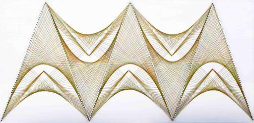 Sumit MEHNDIRATTA - Sculpture-Volume - Nailed it series No.60