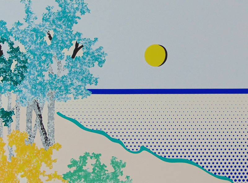 Roy LICHTENSTEIN - Grabado - Titled