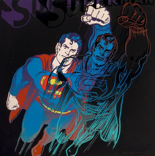 Andy WARHOL - Stampa-Multiplo - Superman