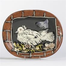 Pablo PICASSO - Ceramic - Colombe à la lucarne