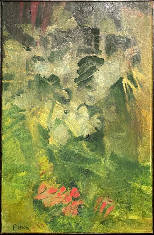 Raimondo SIROTTI - Pintura - Cespuglio
