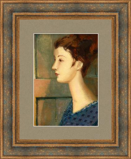 Levan URUSHADZE - Peinture - Young woman. Profile