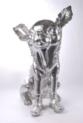 William SWEETLOVE - Print-Multiple - Cloned Silver Chihuahua
